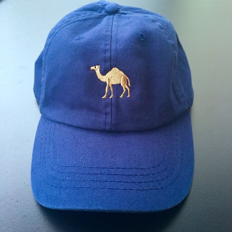 Image of Horsey Cap (Navy)