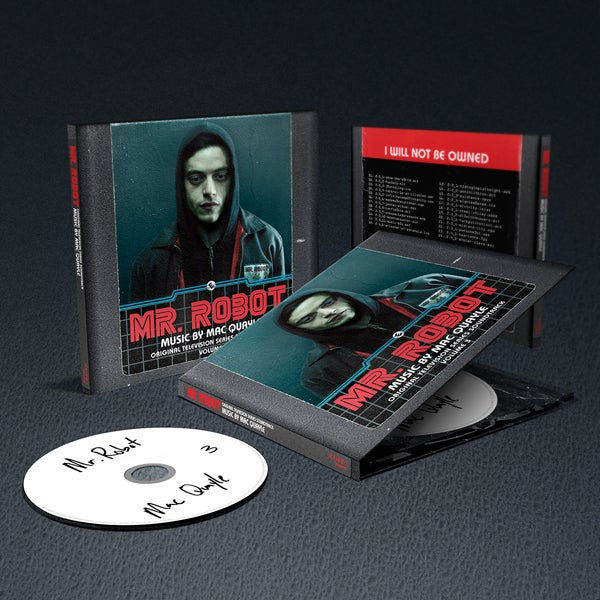 Image of Mr. Robot Vol. 3 (Original Television Series Soundtrack) CD - Mac Quayle