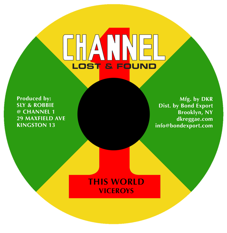 "Image of Viceroys - This World 7"" (Channel 1)"