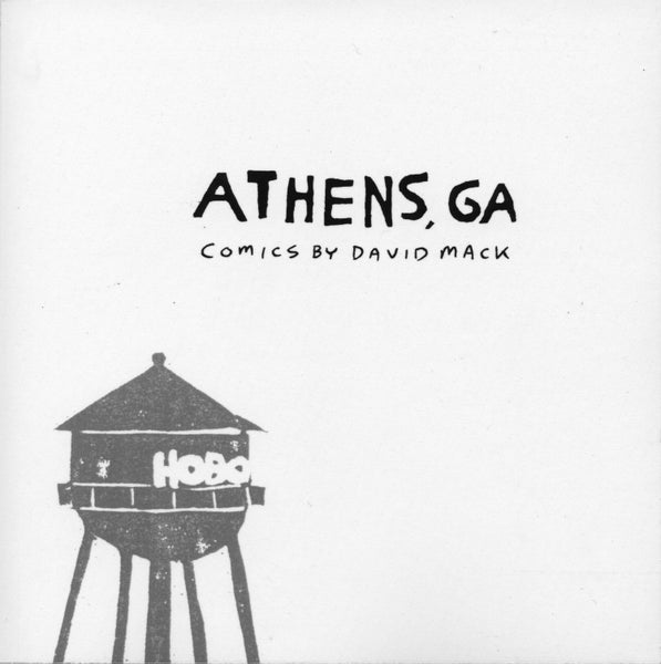 Image of ATHENS, GA Comics by David Mack.