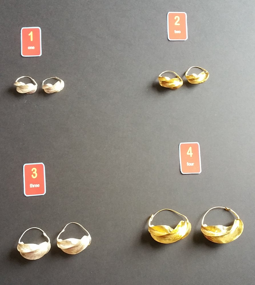 Image of Traditional Fulani Ear-Rings