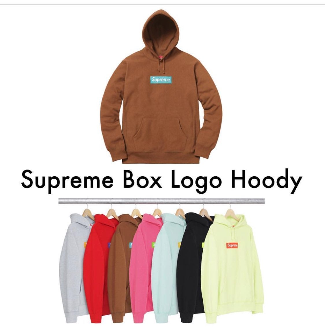 Image of SUPREME BOX LOGO HOODIE - AUTOCHECKOUT