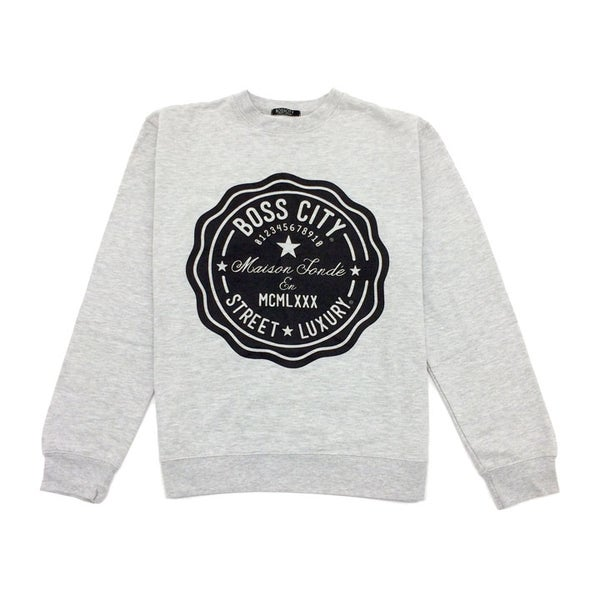 Image of Boss City Street Luxury® Life Count Crewneck