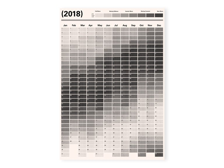 Image of Intern x James Green 'Lunar Calendar'