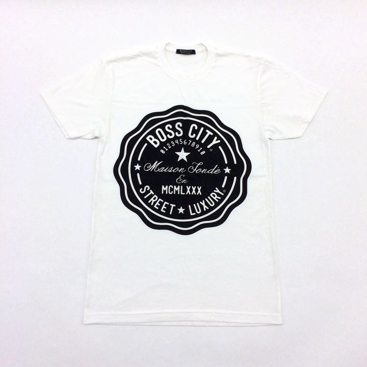 Image of STREET LUXURY® Life Count White Tee