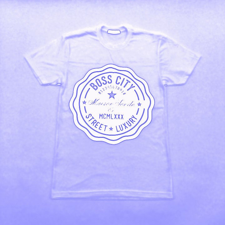 Image of Boss City Street Luxury®  Life Count White Tee
