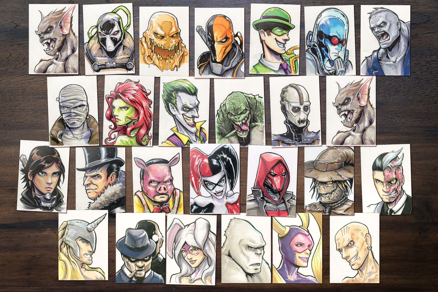 Image of Original handrawn Sketchcards