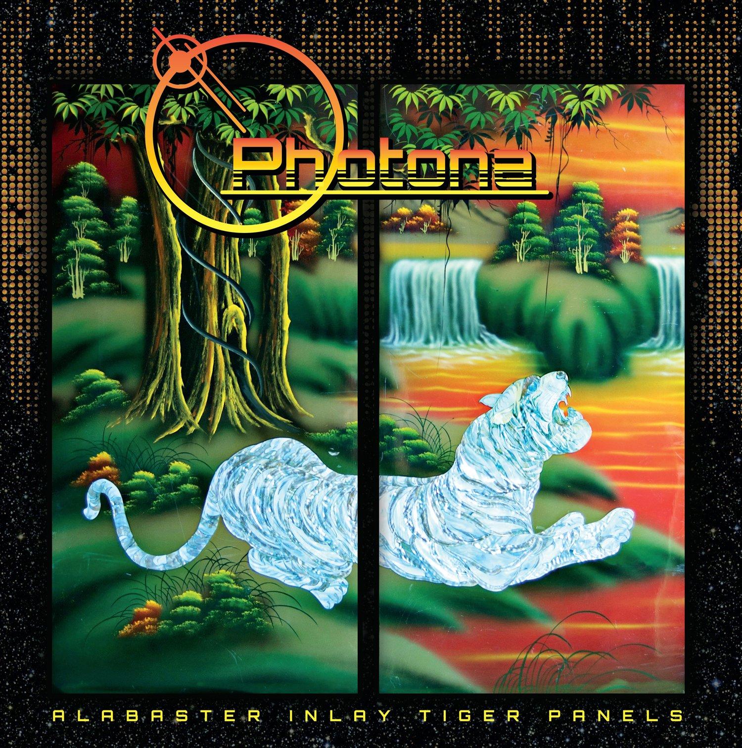Image of PHONTONA-Alabaster Inlay Tiger Panels VINYL and CD