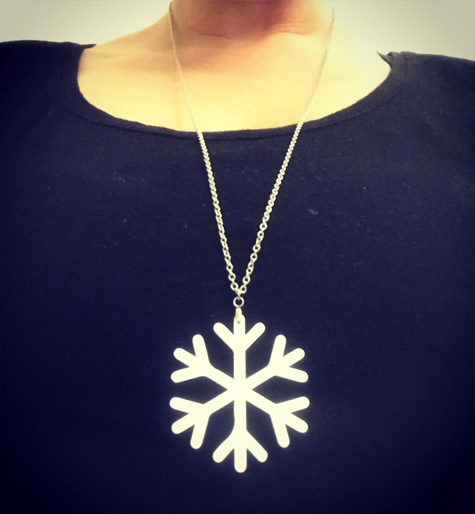 Image of Snowflakes - náušnice / prstýnek / špendlík / náhrdelník