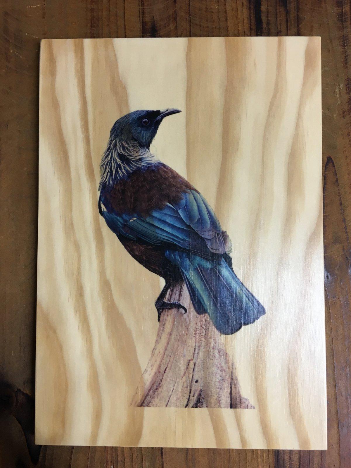 Image of Wooden Kiwiana Prints
