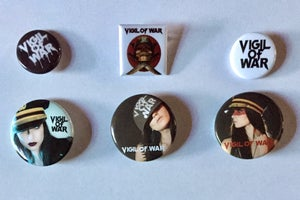 "Image of 1""-1.5"" Buttons-starting at $1 NEW buttons added!"