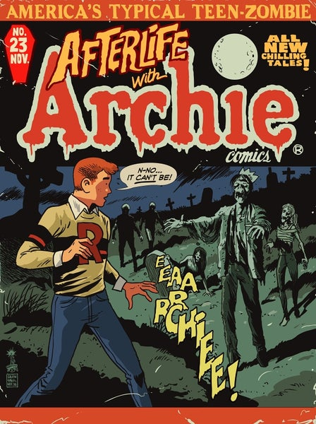 Image of Afterlife With Archie #23 Mondo Screen Print APs
