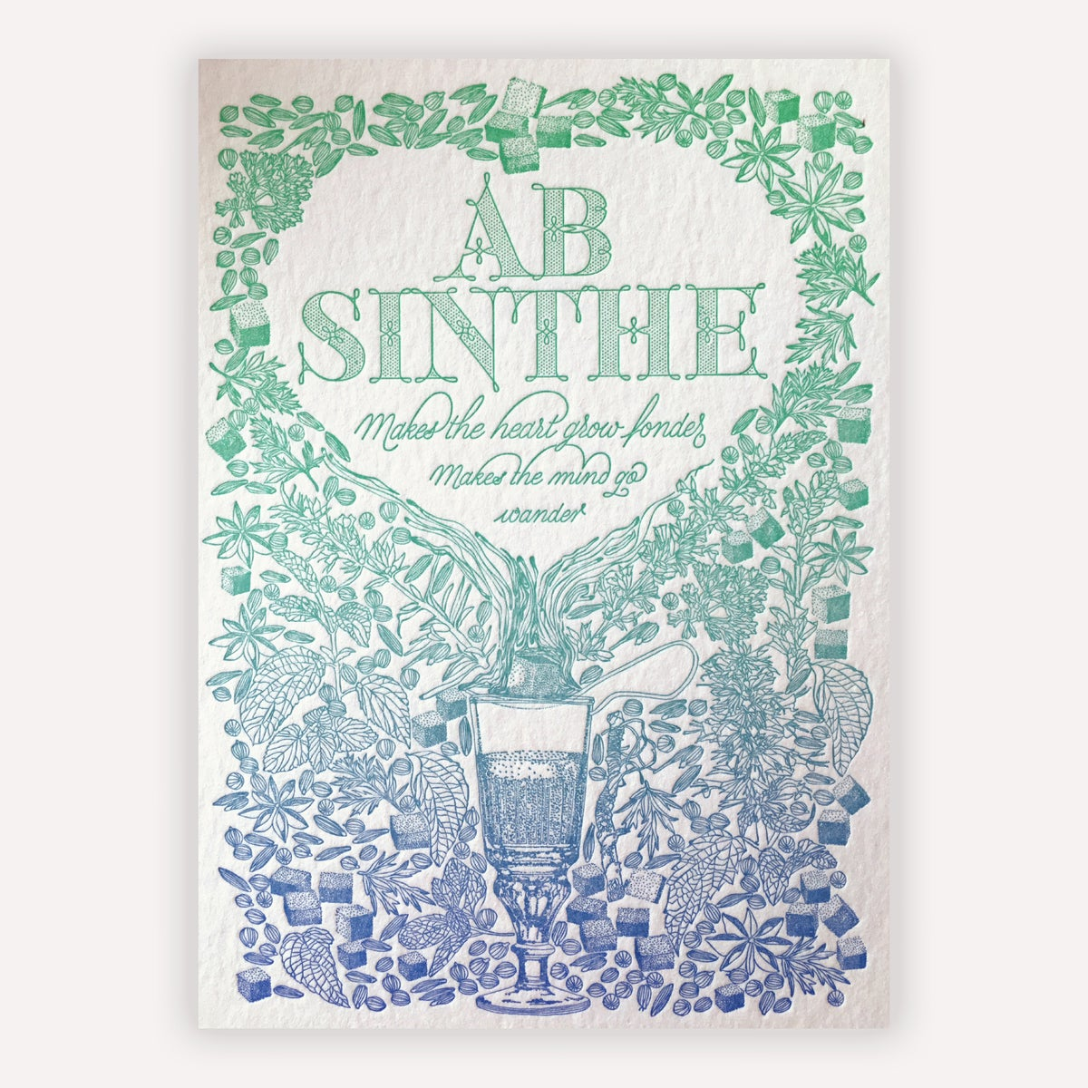 Image of LETTERPRESS ARTIST SERIES
