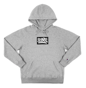 "Image of 90East ""Slap"" Champion Hoodie Heather Grey"