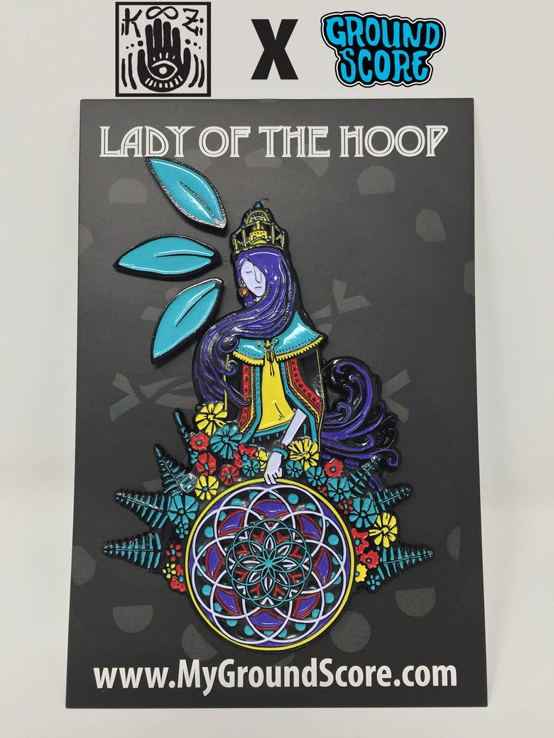 Image of KOOZ - Lady of the Hoop 3D Pin (LE 150)