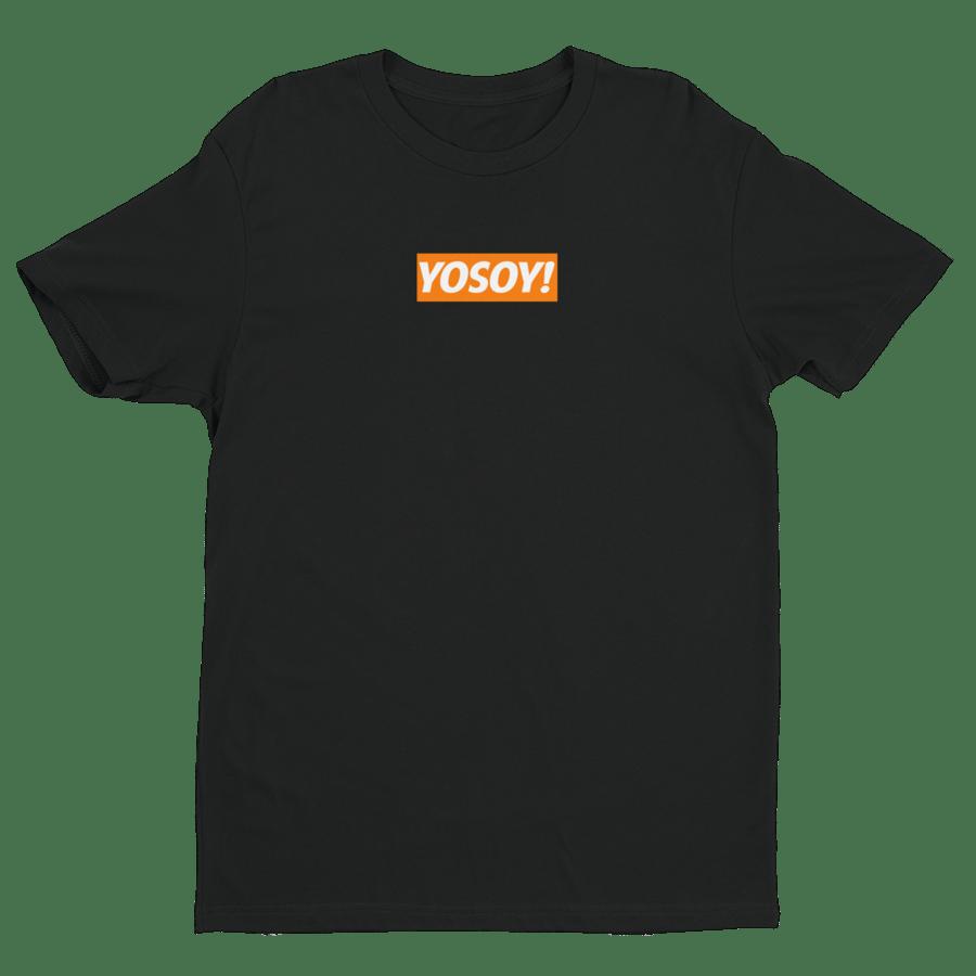 Image of YOSOY BOX LOGO TEE (BLACK)