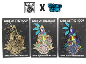 KOOZ - Lady of the Hoop 3D Pin (LE 15)