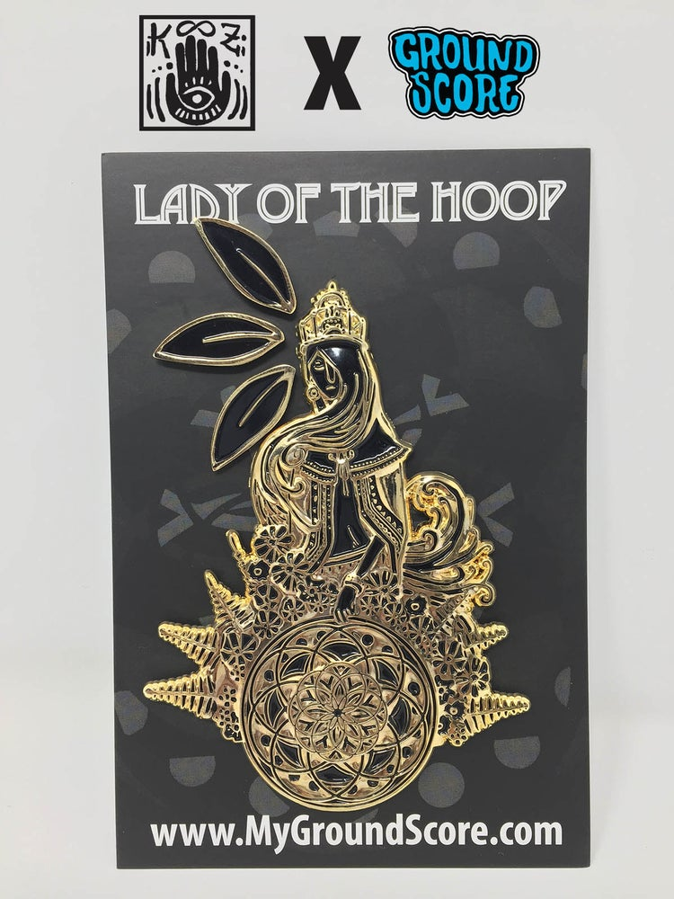 Image of KOOZ - Lady of the Hoop 3D Pin (LE 15)
