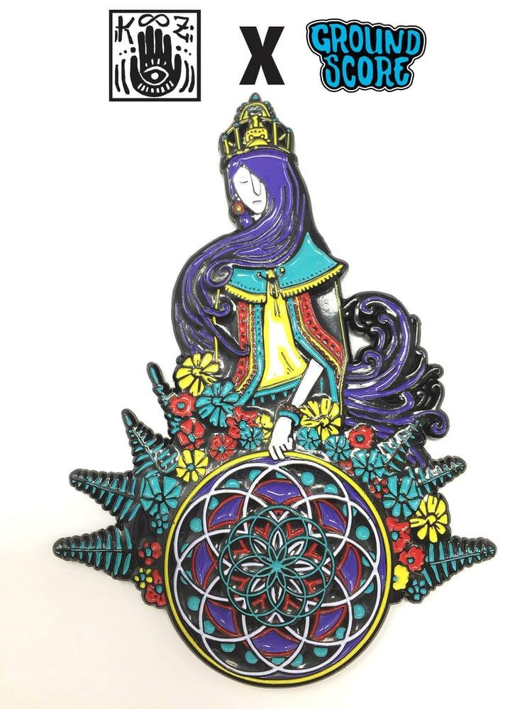 Image of KOOZ - Lady of the Hoop 3D Magnet (LE 50)