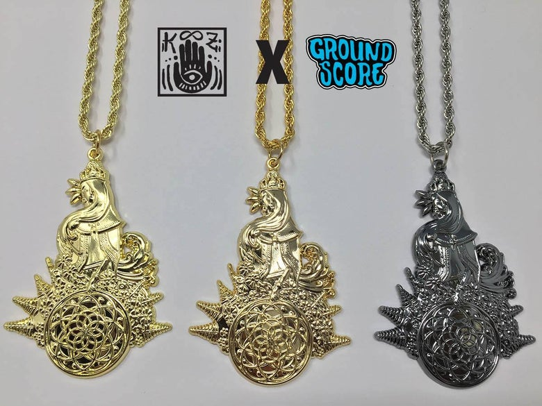 Image of K00Z - Lady of the Hoop Pendants (LE 25 Each)
