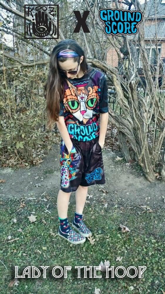 Image of KOOZ - Lady of the Hoop Shorts (LE 25)