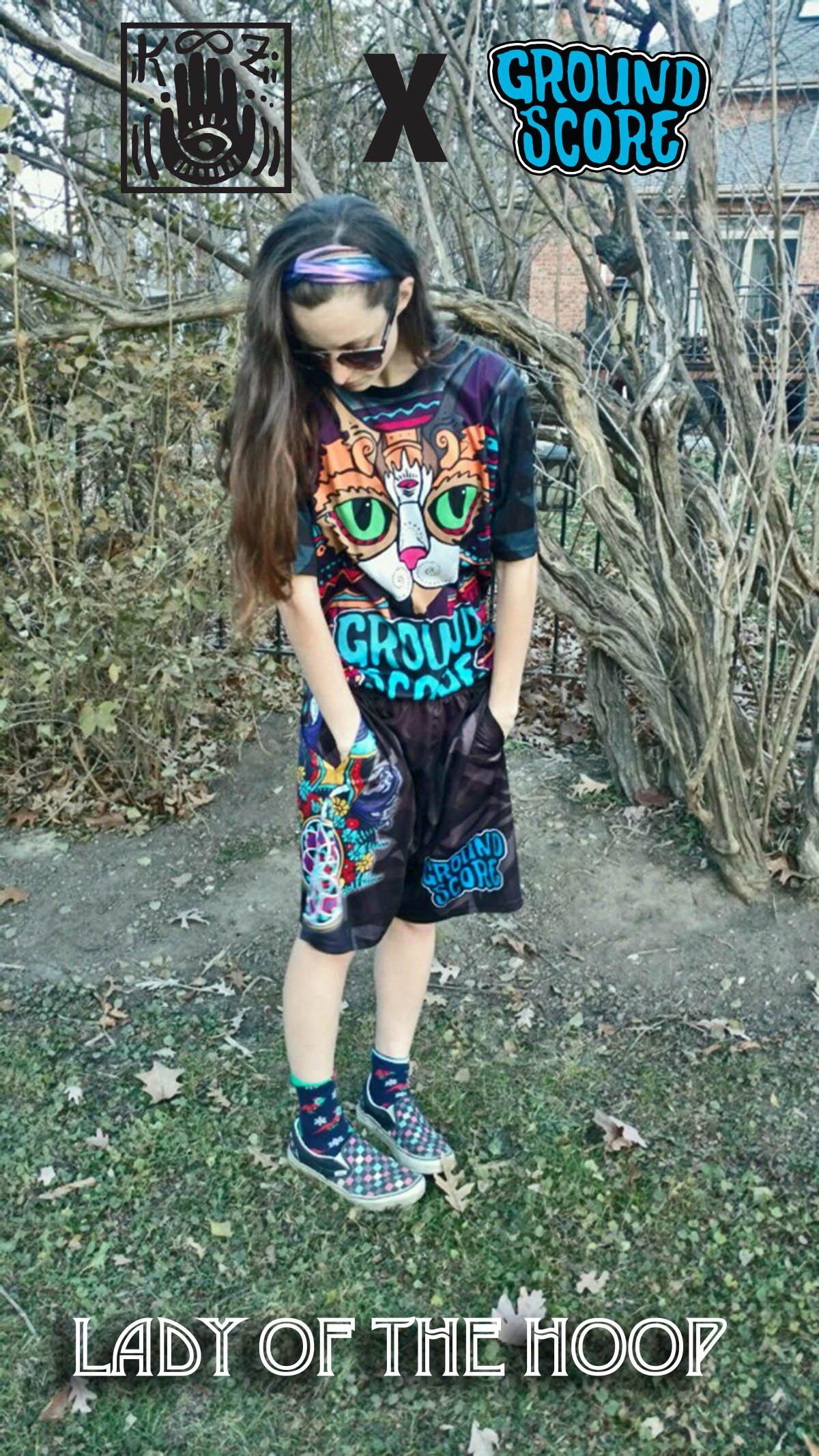 KOOZ - Lady of the Hoop Shorts (LE 25)
