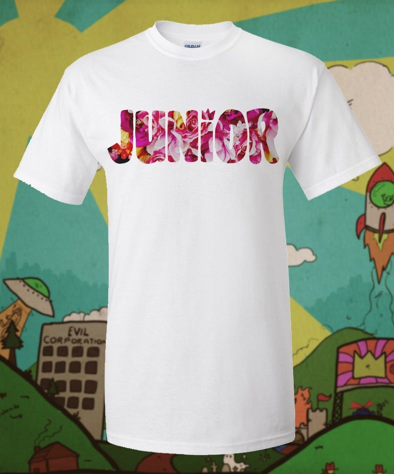 Image of Junior Flower Print Shirt
