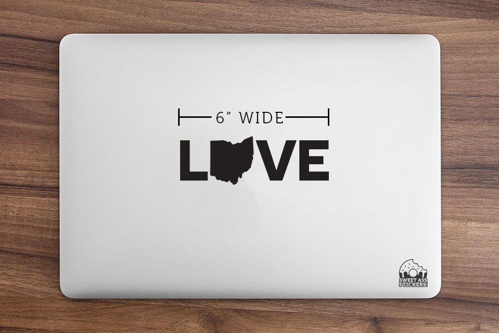 Image of Ohio Love Letter Sticker