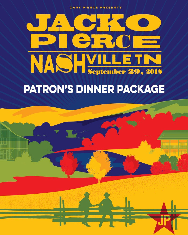 Image of Nashville Destination Show - September 29, 2018 - Patron's Dinner Package