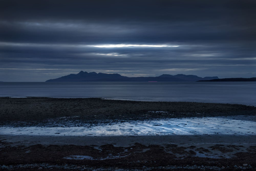 Image of DUSK, FROM CAMASUNARY -ISLE OF SKYE