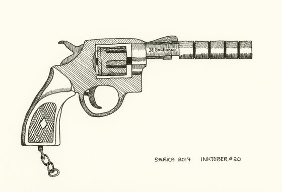Image of Inktober #20 - Snubnose