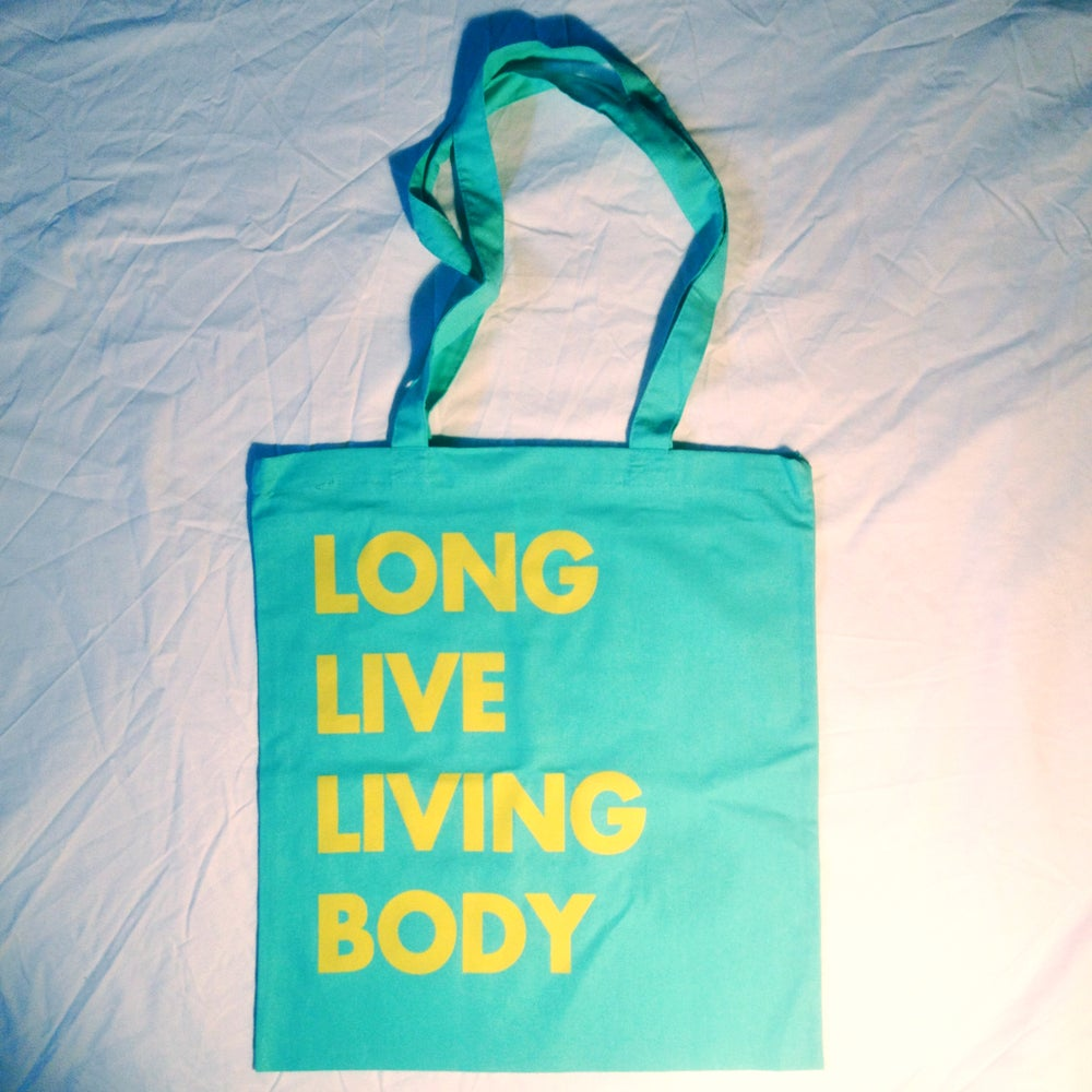 Image of Living Body Tote Bag