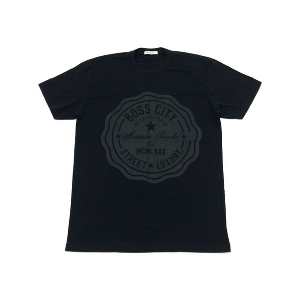 Image of Boss City Street Luxury®  Life Count Black Tee