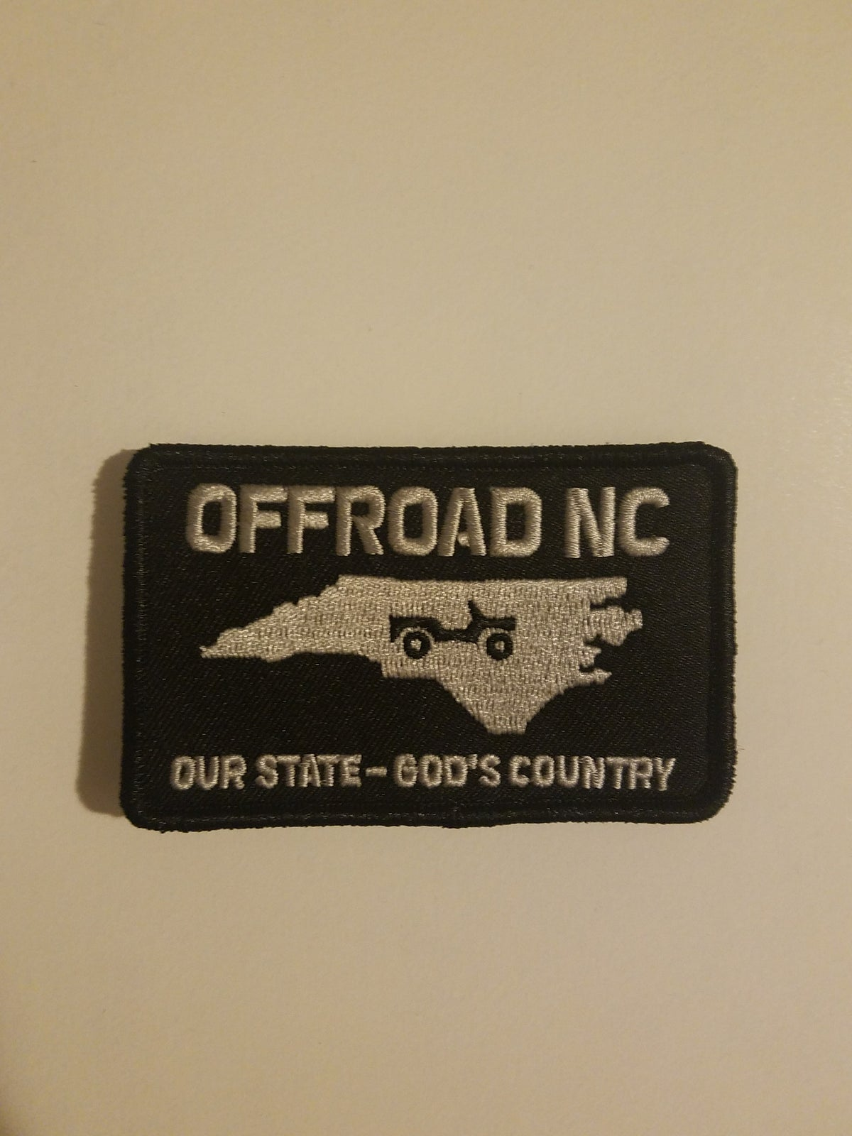 Image of Offroad NC Patch - Black