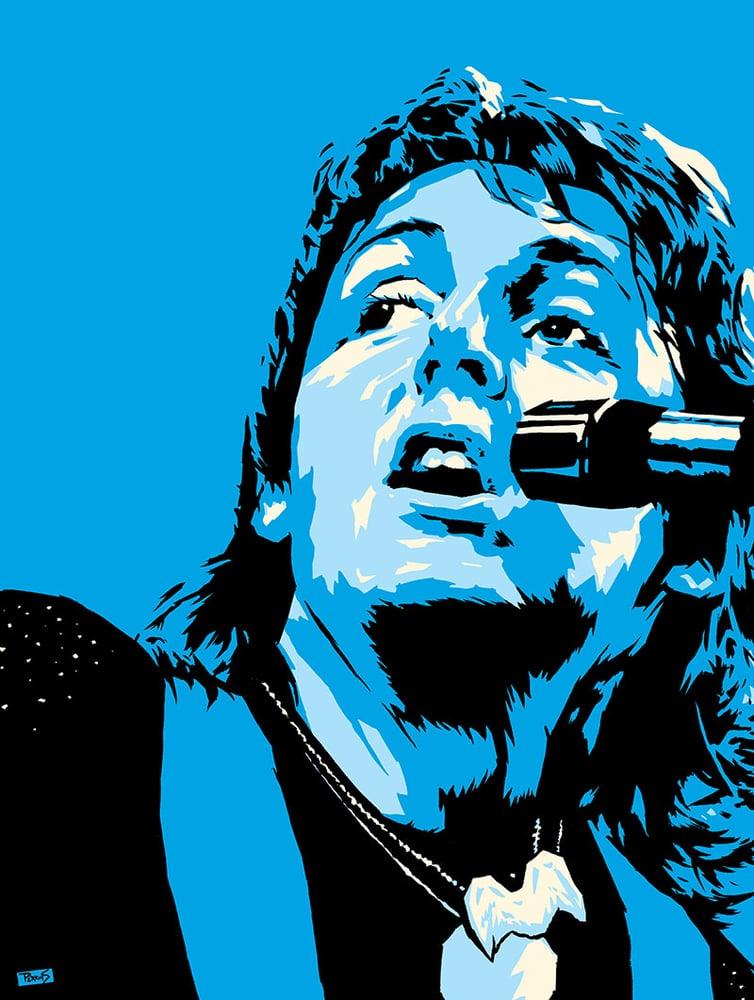 "Image of ""PERKINS 77"" Art Print series - Paul McCartney #7720"