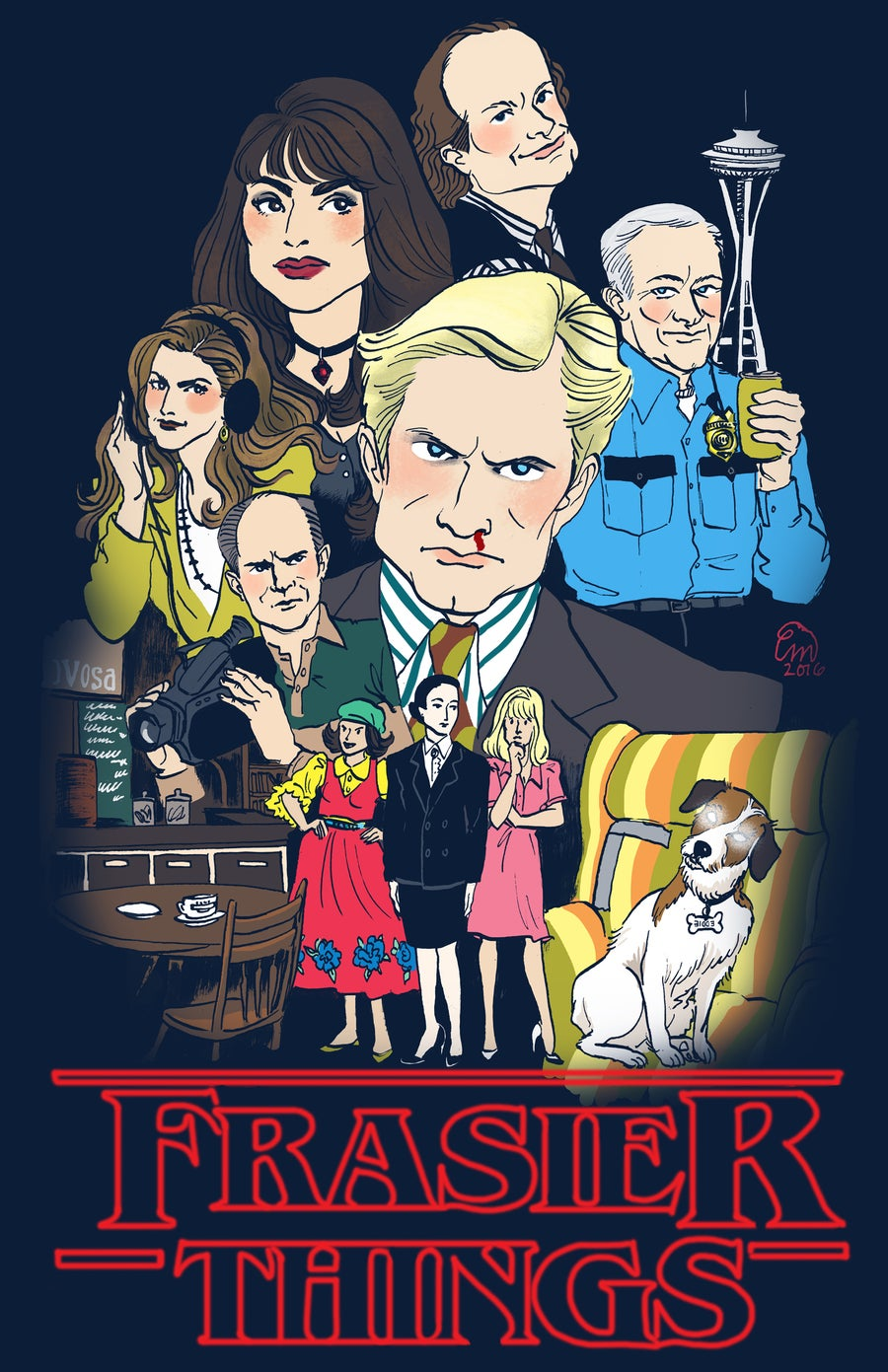 Image of Frasier Things Print