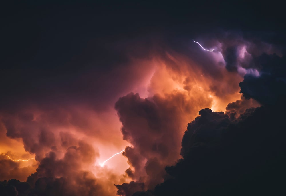 Image of 13x19 (in) Electric Skies