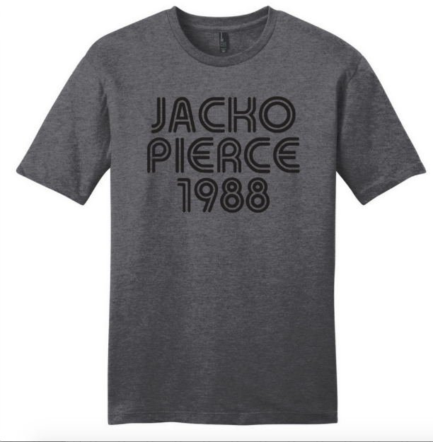 Image of Jackopierce 1988 - Men's/Unisex Tee - Charcoal Grey Heather