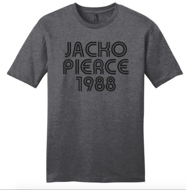 Image of Jackopierce 1988 - Men's/Unisex Tee - Grey
