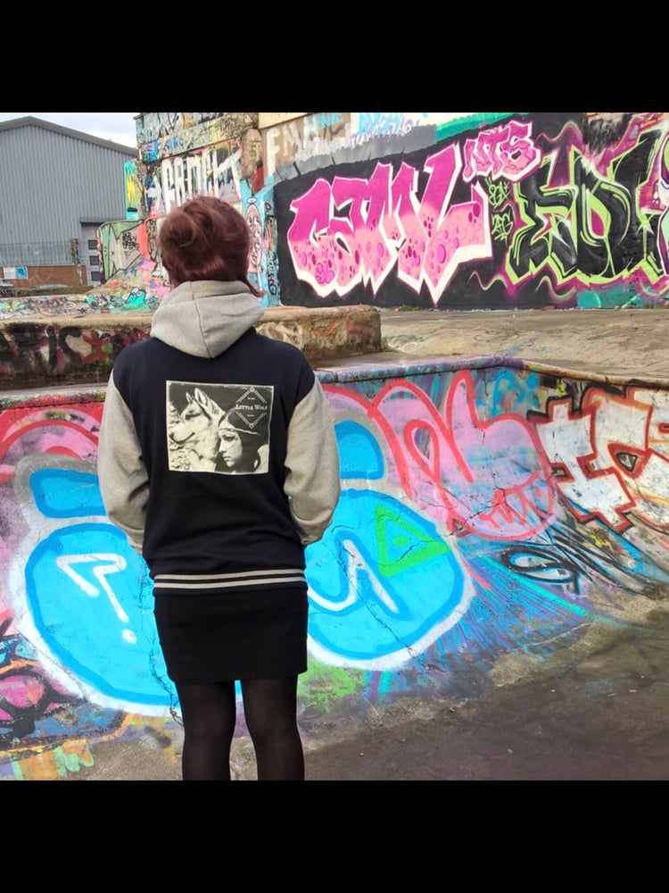 Image of Little Wolf Baseball Jacket