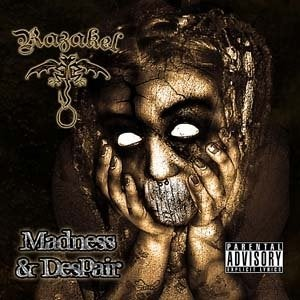 Image of Razakel - Madness & Despair CD