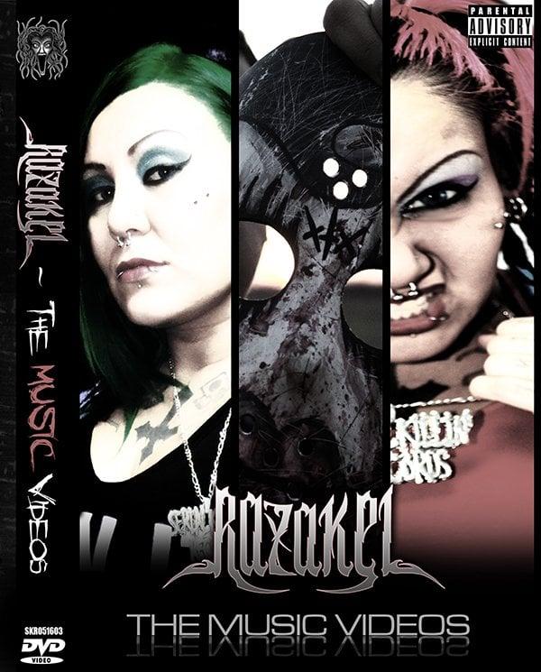 Image of Razakel - The Music Videos DVD