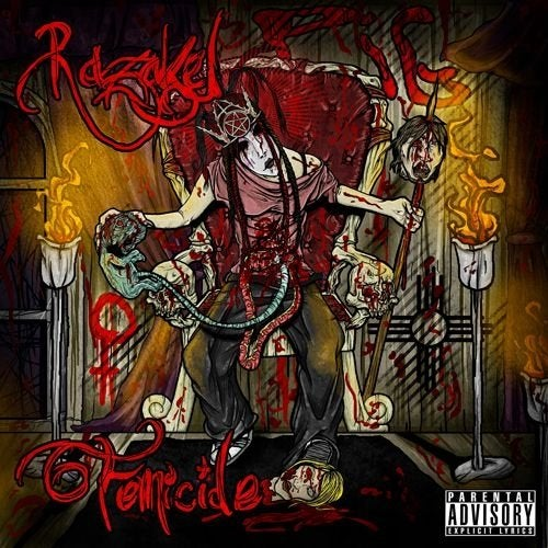 Image of Razakel - Femicide CD