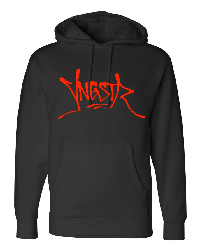 Image of Red YNGSTR Tag Hoody