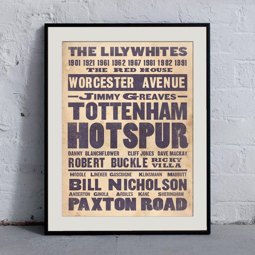 Image of Tottenham Hotspur 'Ye Olde' Print