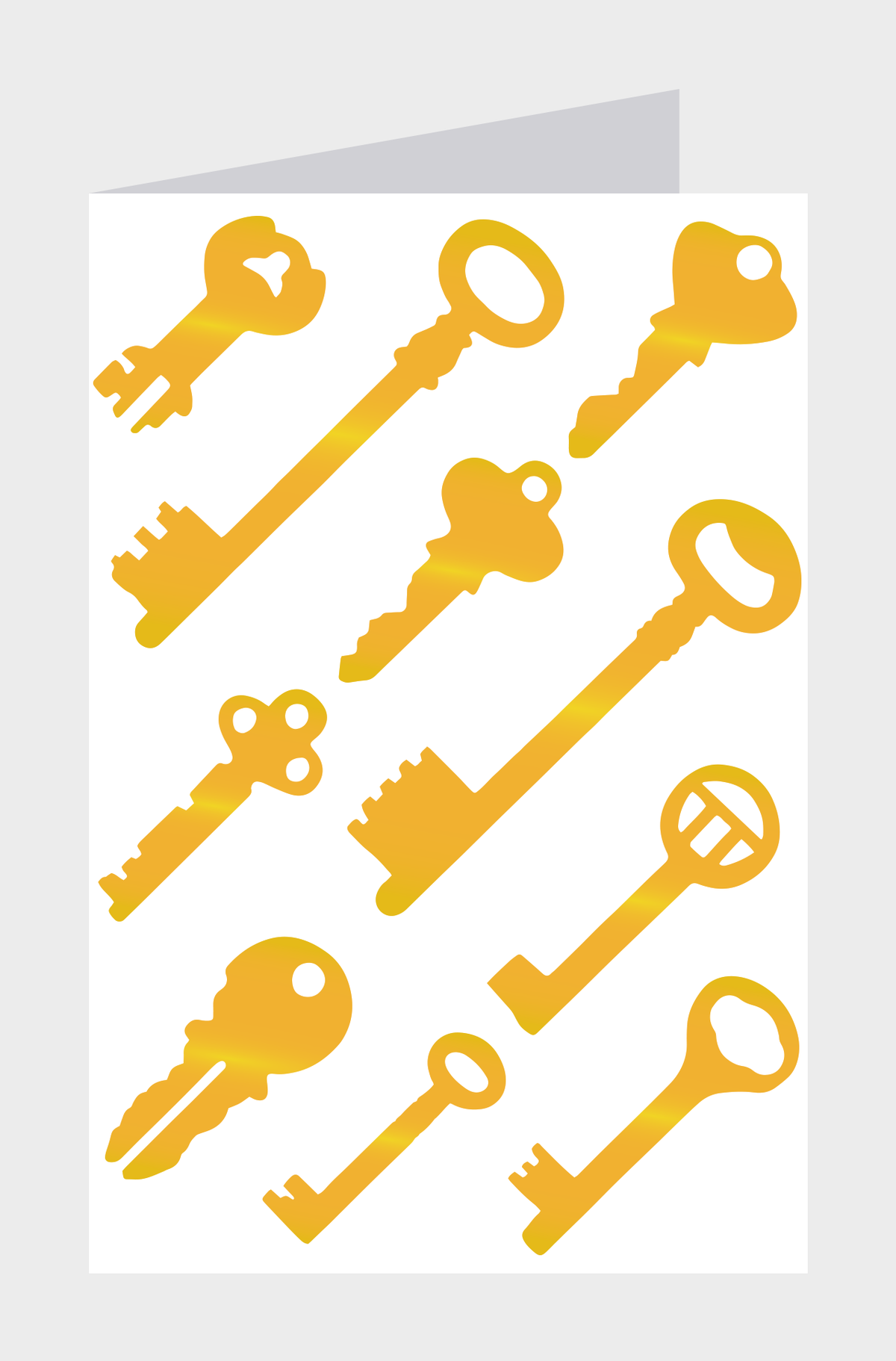 Image of Copper Foil Keys