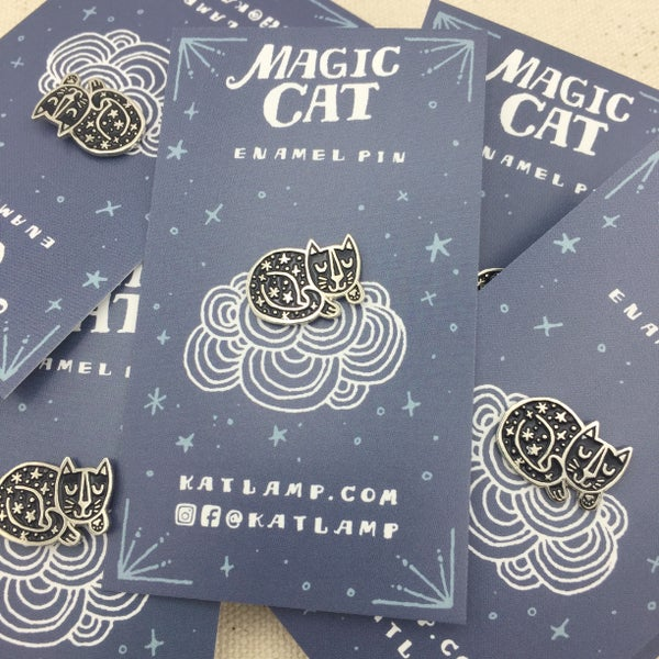 Image of Magic Cat Pin