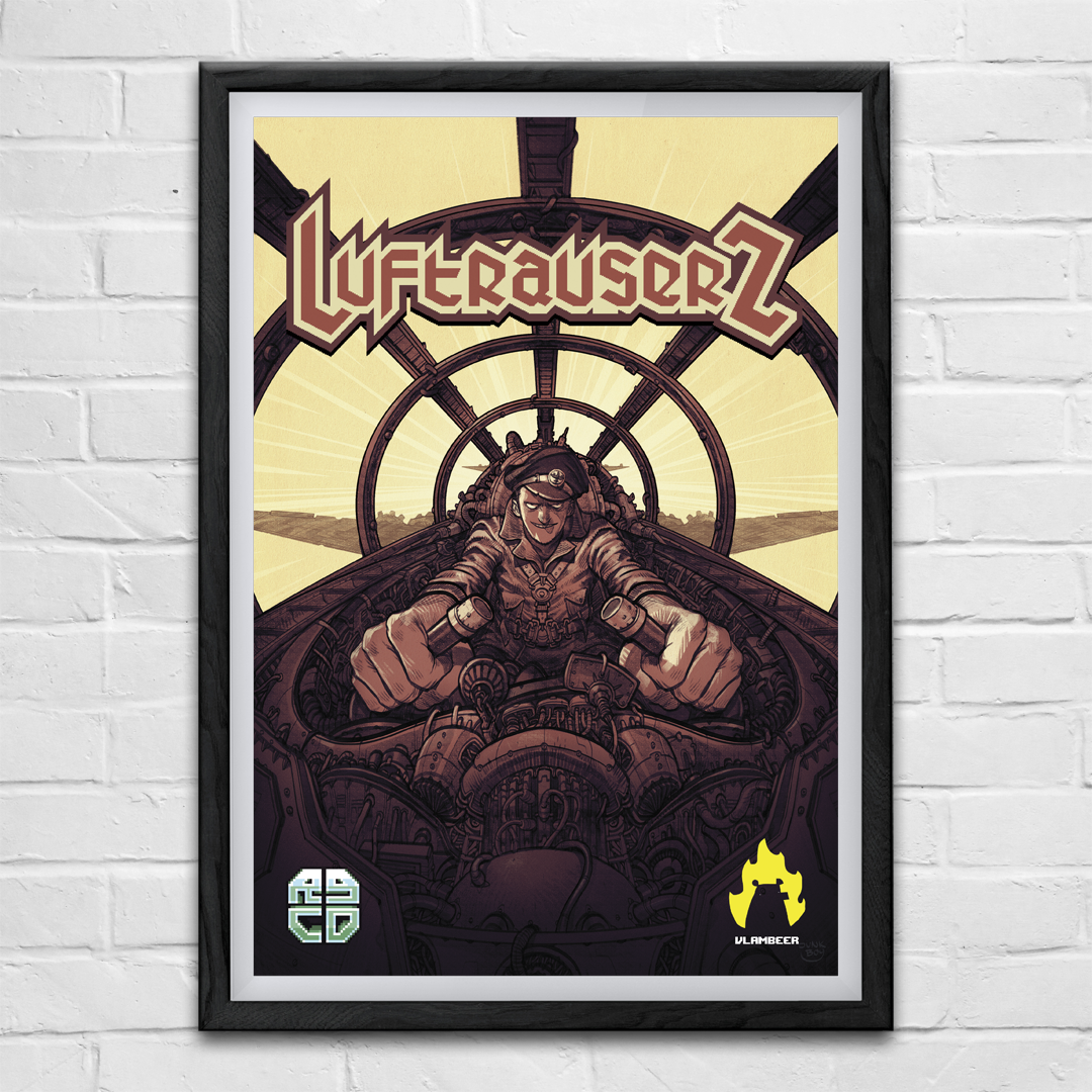 LuftrauserZ (Commodore 64) (PAL ONLY)