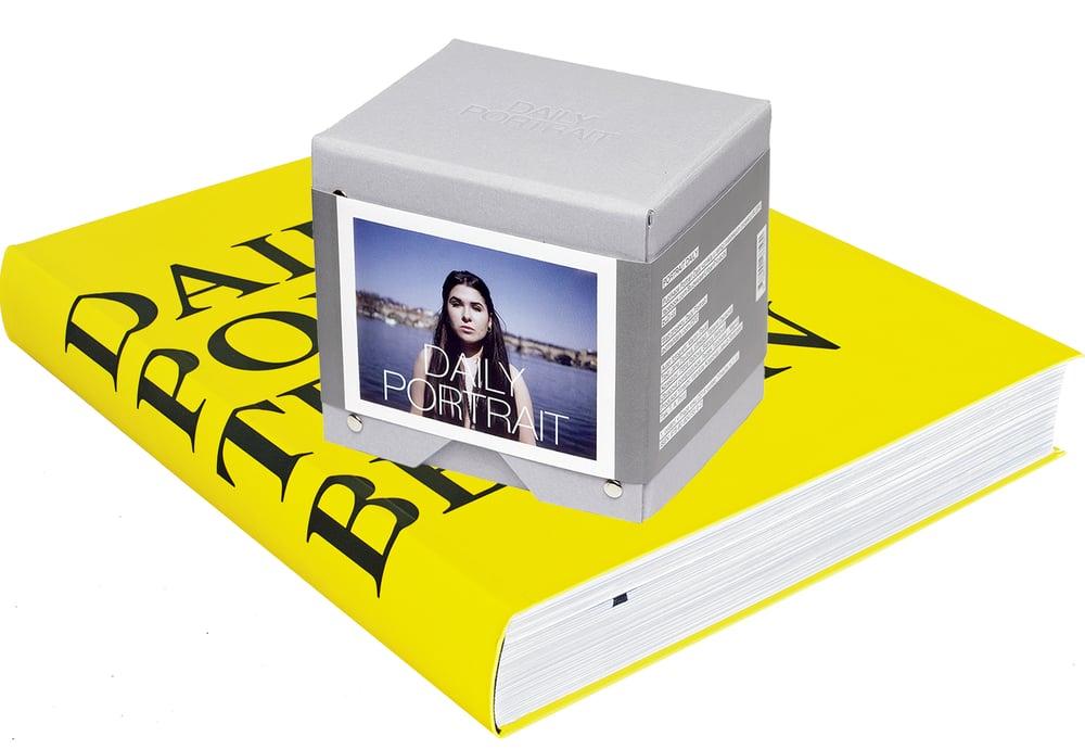 Image of DAILY PORTRAIT BERLIN BOOK + DAILY PORTRAIT PRAGUE POLAROID BOX