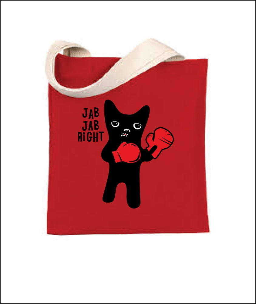 Image of Jab Jab right - Tote Bag
